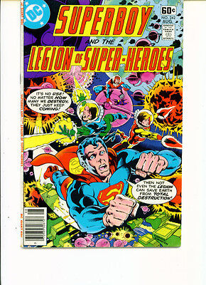 Superboy And The Legion Of Super-Heroes #242 (FN+)`78 Levitz/ Sherman