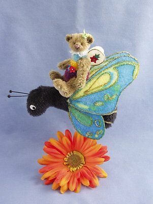 """Deb Canham  """"butterfly Sprite"""" Limited Edition For Disney Convention 2006 W/pin"""
