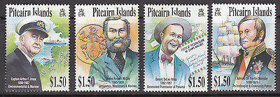 2002 Pitcairn Island Celebrities - MUH