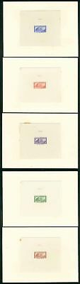 Colombia 1945-6 Posts & Telegraphs ABNCo DIE PROOFS x5