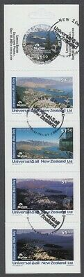 New Zealand Universal Mail Booklet Used Queenstown