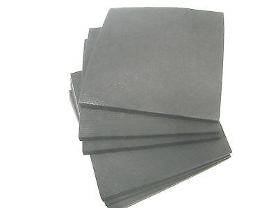 "250pc 7.5""x7.5"" Black Weblon Mesh 1 oz cutaway"