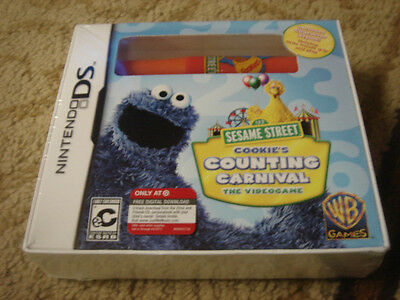 Sesame Street: Cookie's Counting Carnival  (Nintendo DS, 2010)