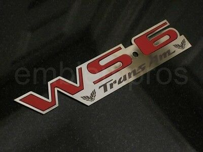 """GM LICENSED LSX EMBLEM BADGE MIRROR STAINLESS STEEL /""""X/"""" INSERT COLOR CHOICE"""
