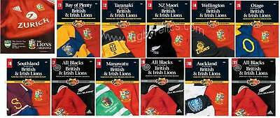 British & Irish Lions 2005 - Complete Set Of Programmes Includes Argentina Test