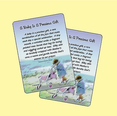 A Baby Is A Precious Gift - 2 Verse Cards - SKU# 924