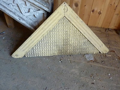 c1870 VICTORIAN WINDOW door gable pediment 55 x 27""