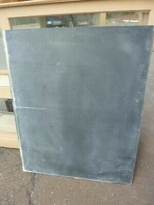 early 20th century schoolhouse SLATE chalkboard 42 x 48