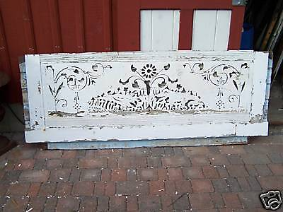 AWESOME VICTORIAN gingerbread house fascia board 84x30""