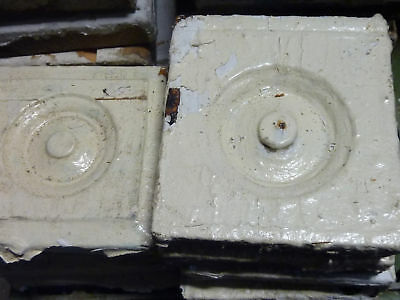 lot 5 victorian corner molding PLINTH blocks 5.5 x 5""
