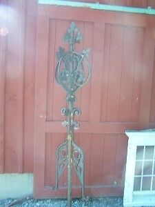 c1879 CAST IRON finial HARTFORD CT CAPITAL building 93""