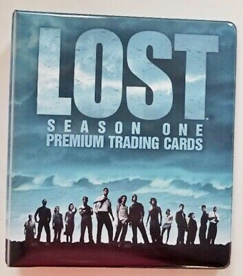 Non-sport Trading Cards Non-sport Card Supplies & Accs Lost Season One Trading Cards Official Padded Binder Album By Inkworks 2005 Abc
