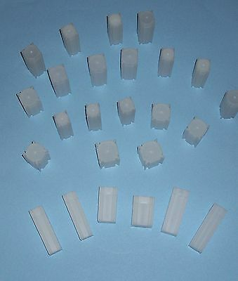FIFTY (50) You Pick-Assorted Sizes SQUARE Tubes - COIN SAFE- Made in America