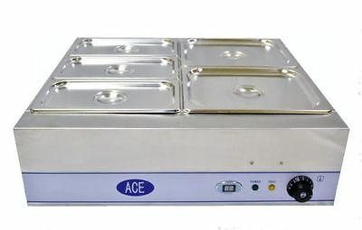 Ace Dry Well Bain Marie 5 Gastronorm Pan
