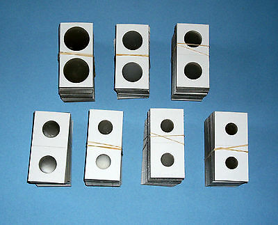 Two Thousand 2000 Assorted Size-YOU PICK 2X2 Cardboard/Mylar Coin Holders Flips
