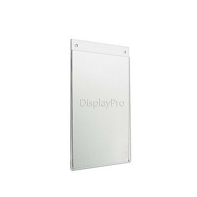 A3 Acrylic Wall Or Hanging Poster Menu Sign Picture Retail Shop Display Holders