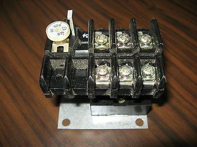 Fuji Overload Relay RC3737-1CLH