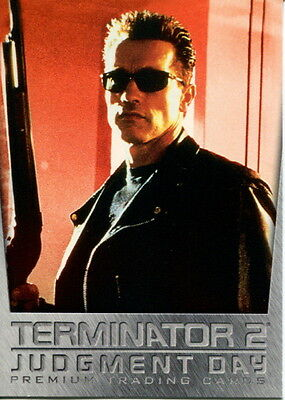 Terminator 2 Judgment Day Movie 2002 Inkworks Promo Card T2-0
