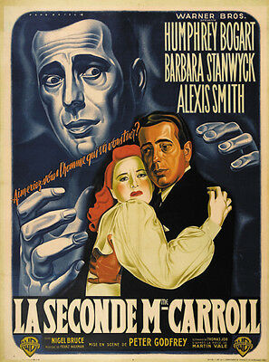 In a lonely place Humphrey Bogart movie poster print #3