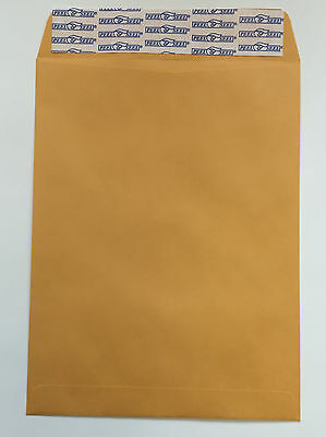 25 10 x 13 Manila Kraft Catalog Mailing Envelopes Self Seal Mailers Free Ship