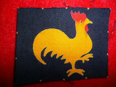 40th Infantry Division Embroidered Printed Patch, British