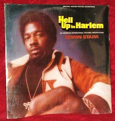 OST HELL UP IN HARLEM FEAT. EDWIN STARR 1974 MOTOWN ORIGINAL PRESSING SEALED