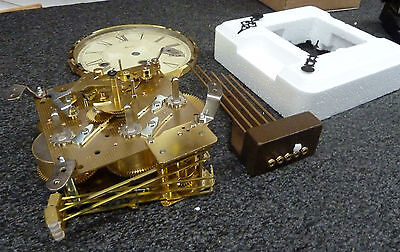 Complete Hermle 340-020 Mantel Clock Package -Dial, Movement, Chime Block, Hands
