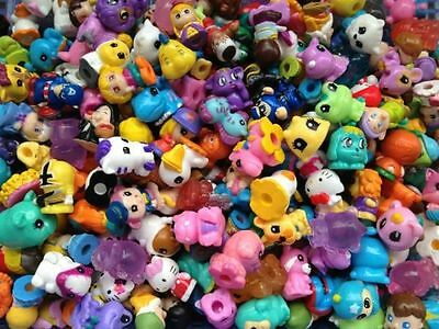 SQUINKIES Mixed Lot 100pc In Random With Doubles and  NO Bubbles US