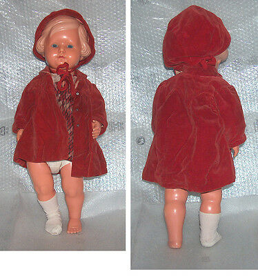 Rare Vintage Large 56 1/2 Cellba Celluloid Doll, Germany