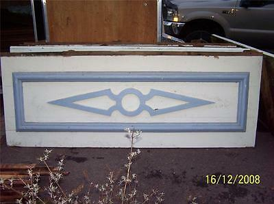 AWESOME victorian gingerbread ARROW fascia board c1885