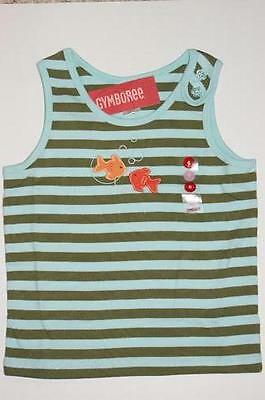 NWT Gymboree Girl Tropical Breeze Coral Bloom Flowers 1-Shoulder Tank Top 7 8
