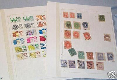 22 Pages Of Stamps - Mexico
