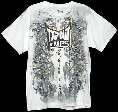 TAPOUT MPS MMA UFC NOTHING TO LOSE T-SHIRT NWT Georges St-Pierre Anderson Silva