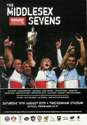 Middlesex Sevens 2009 Rugby Programme