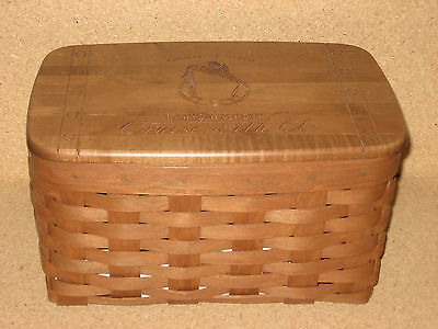 Longaberger RARE Incentive and Award Cruise with us Basket Complete!