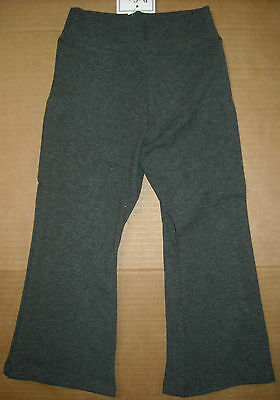 NWT Dori Creations Charcoal Leggings W// Pink Lace Child sizes