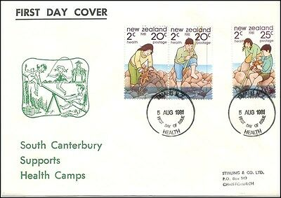 New Zealand Health Illustrated Fdc 1981