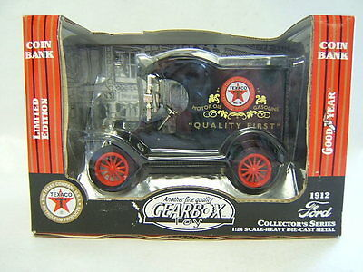 Gearbox 1912 Ford Delivery Truck Coin Bank Texaco
