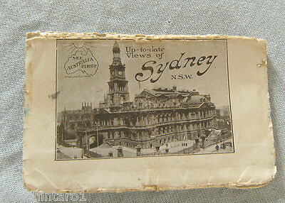 POSTCARD FOLDER - VIEWS OF SYDNEY, 1920s