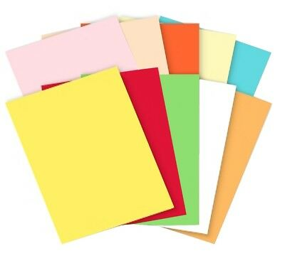 A4 Coloured Card 160gsm ~ Plain Craft Card Sheets ~ Choose Colour and Amount