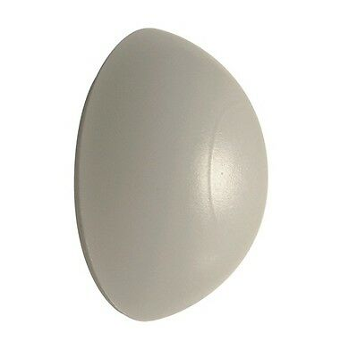Door Stop Bumpers WHITE or BLACK Rubber Wall Mounted Self Adhesive