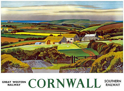 TX275 Vintage The Cambrian Coast GWR Railway Travel Poster Re-Print A2//A3//A4