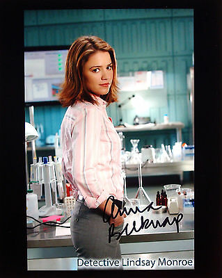 Anna Belknap signed CSI NY promo photo / autograph 8x10