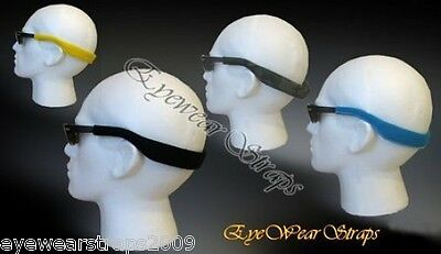 NEW Glasses Sunglasses Deluxe Twin Layered Neoprene Sports Band Head Strap Cord