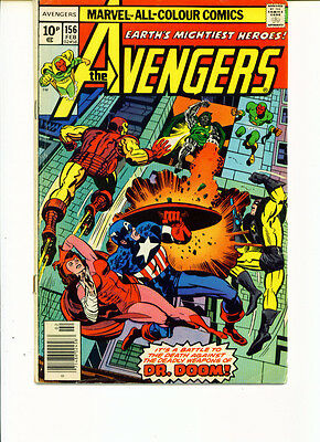 Avengers #156 (FN)`77 Conway/ Shooter/ Buscema