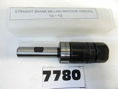 "1/2""x1/2"" Straight Shank Stub Milling Machine Arbor  **new** Pic#7780"
