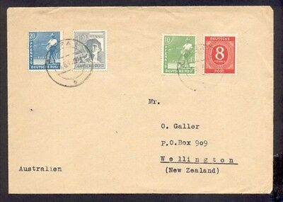 Germany 1948 Cover To New Zealand
