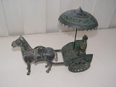 A Chinese Bonze Cart- Reproduce Not Antique