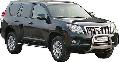 Pare Buffle Toyota Land Cruiser 150 Homologue Inox Diametre 63