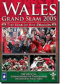 Wales Grand Slam 2005 Rugby Dvd New And Sealed